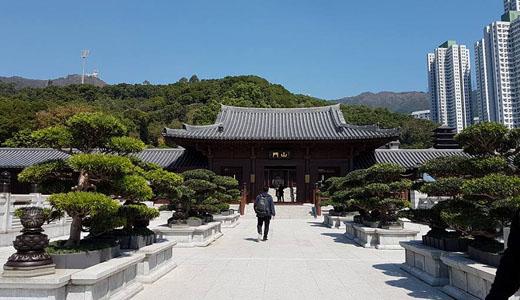 Hong Kong Macau Itinerary: Chi Lin Nunnery Front