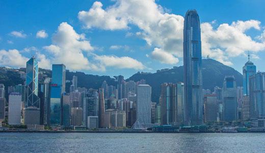 Hong Kong Macau Itinerary: Hong Kong Skyline Morning