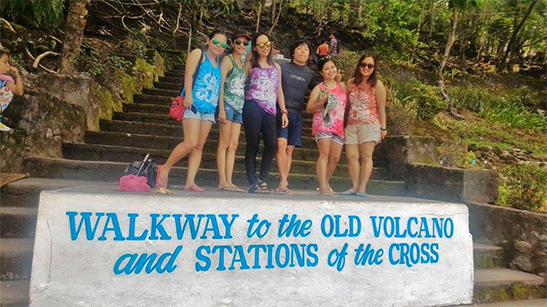 Walkway to the Old Volcano & Stations of the Cross