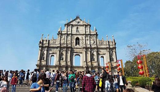 Hong Kong Macau Itinerary: The Ruins of St. Paul's