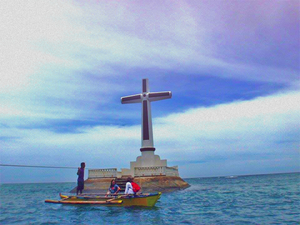 Camiguin Tourist Attractions: Sunken Cemetery