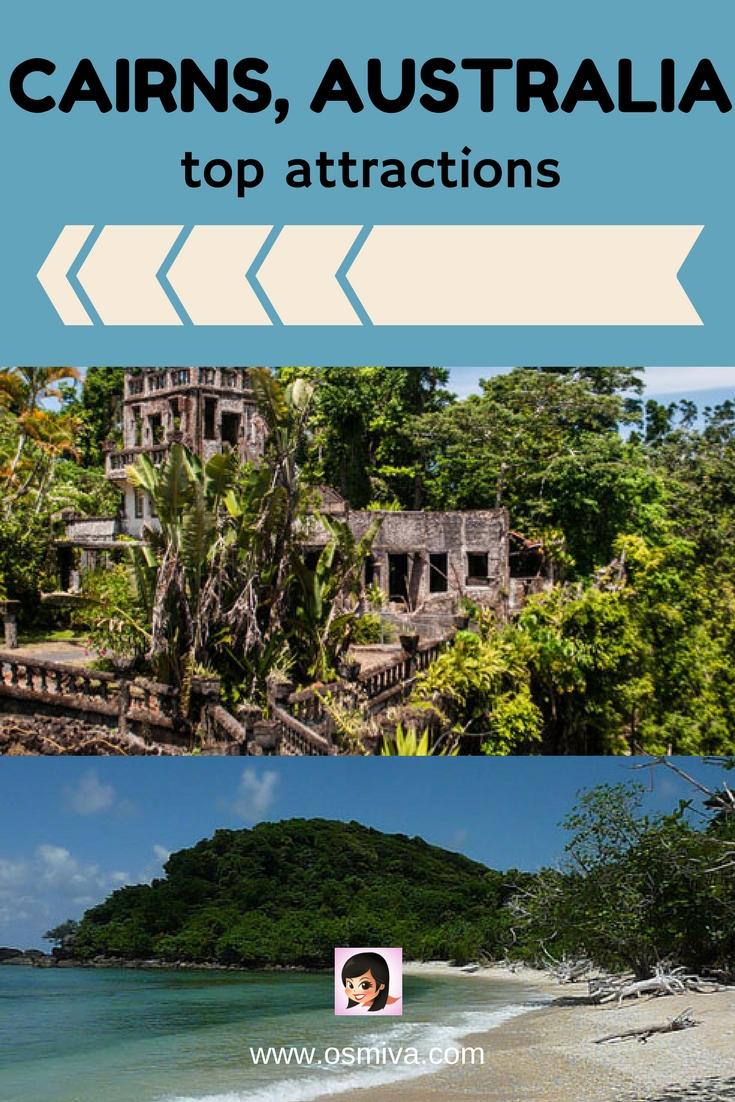 Cairns, Australia Top Attractions #cairnsaustralia #attractionsincairns #australiatravel #osmiva