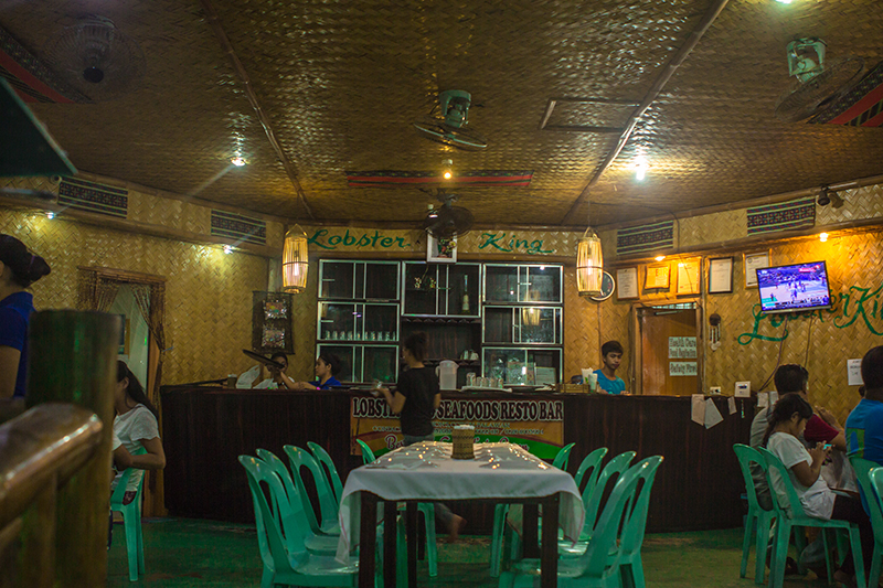 Lobster King Interior