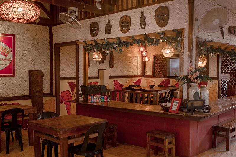 Santino's Grill Interior