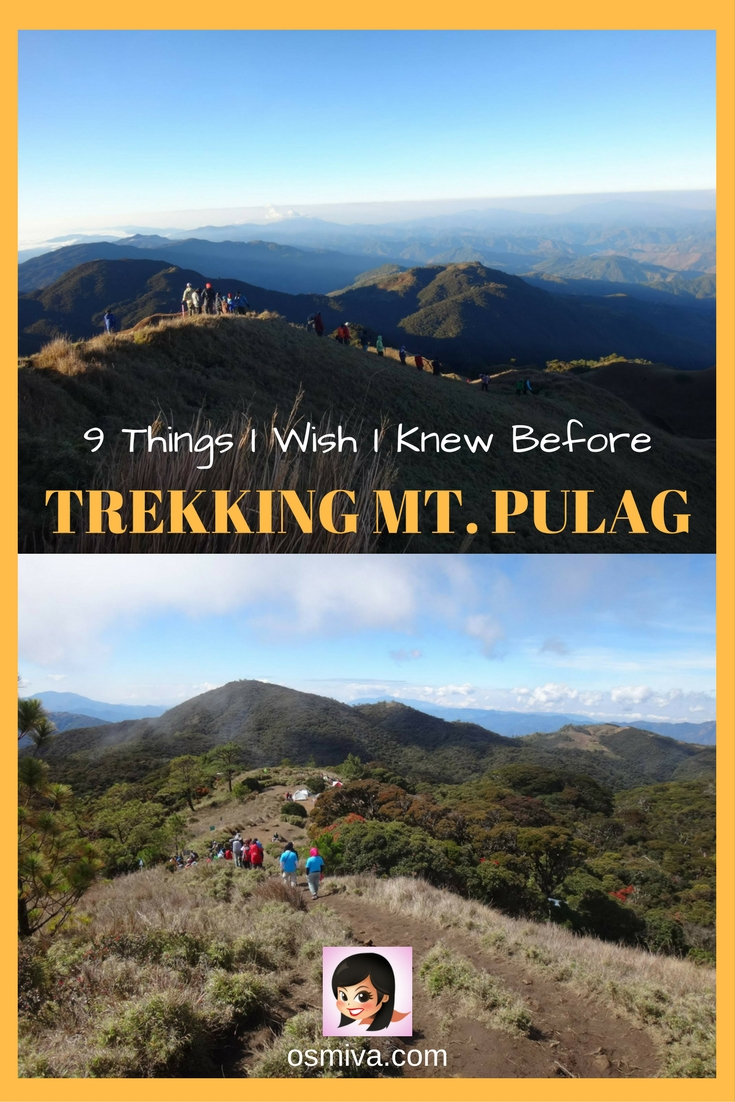 9 Things I Wish I Knew Before Trekking Mt. Pulag. Including tips on how to enjoy the trip and the view! #traveladventures #traveltips #mountpulag #mountpulagbenguet #benguet #benguetphilippines #asia #philippineshike #osmiva @osmiva