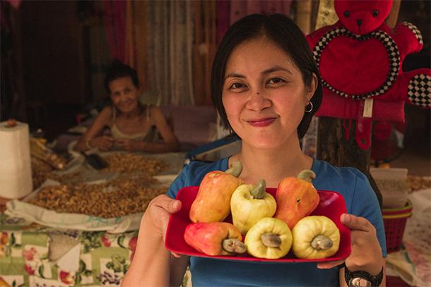 Coron Palawan Town Tour Cashew Harvest