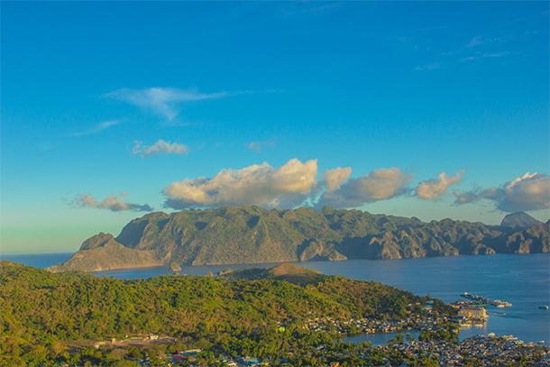 Coron Palawan Town Tour Mt. Tapyas View Deck