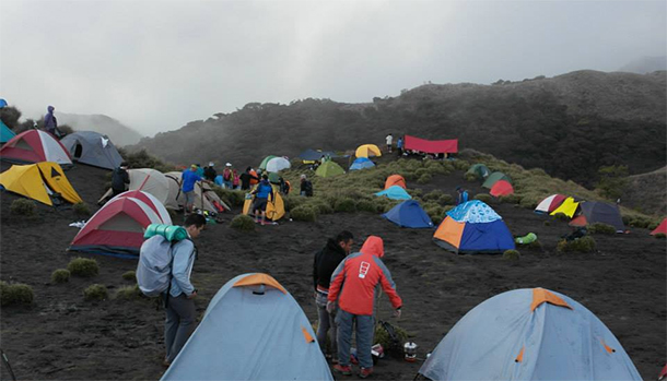 Mt. Pulag Camp Ground