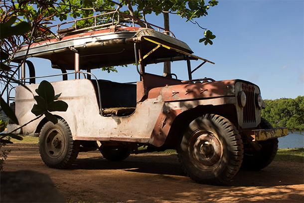Calauit Safari Tour Jeep