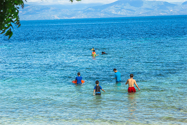Things To Do In Moalboal, Cebu Swimming