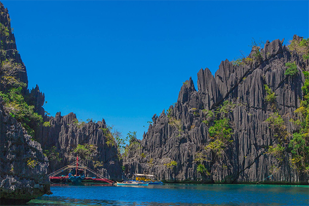 Coron Ultimate Tour Twin Lagoons Landscape