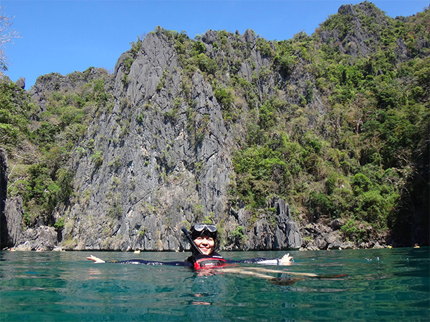 Coron Ultimate Tour Twin Lagoons Swimming