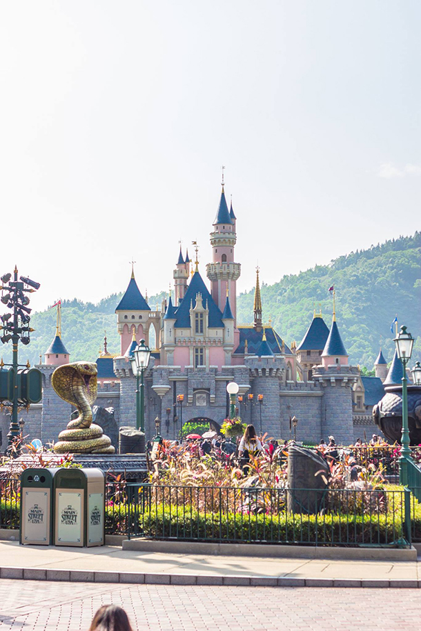 Hongkong Photo Gallery Hongkong Disneyland Sleeping Beauty Castle