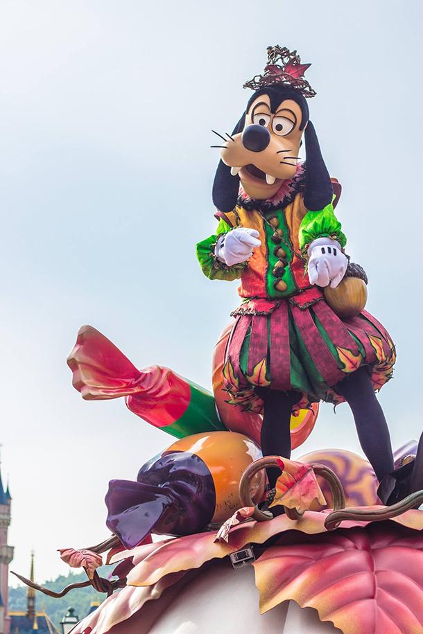 Hong Kong Disneyland Goofy