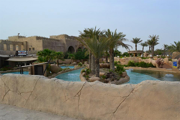 Bahrain Attractions Lost Paradise Resort Pool
