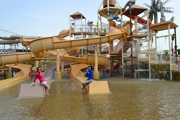 Bahrain Attractions Lost Paradise Resort Slide