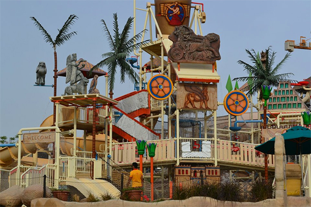Bahrain Attractions Lost Paradise Resort Play Area