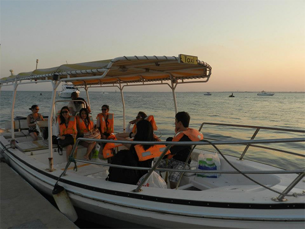 Bahrain Attractions Al Dar Island Boat Ride