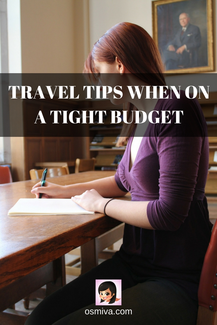 How to Travel on a Budget. List of tips on the cheapest way to travel. Travel Tips When On A Tight Budget. Budget Travel. Budget Travel Tips. How to Save for Travel. #traveltips #budgettravel #travelonabudget #cheapestwaytotravel #travelguide #osmiva