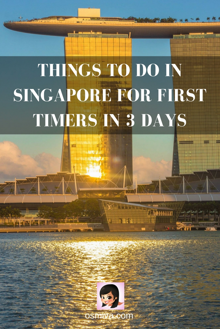 Things To Do in Singapore for First Timers in 3 Days. #travel #asia #singapore #thingstodosingapore #3daysinSingapore #marinabaysands #gardensbythebay