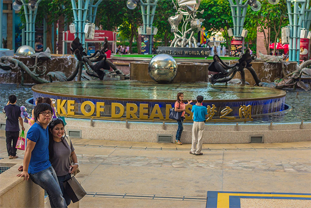Things to Do Singapore: Lake of Dreams