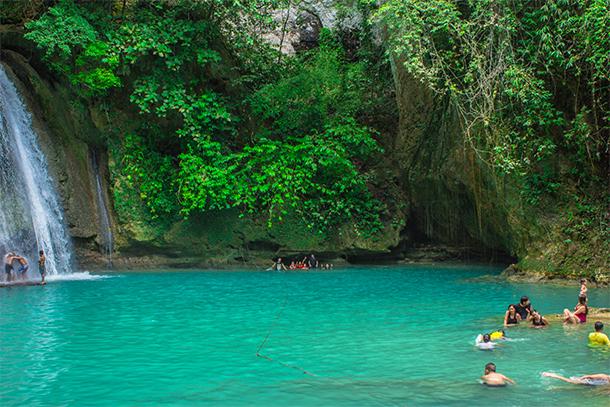 Cebu Philippines Photos Kawasan Falls