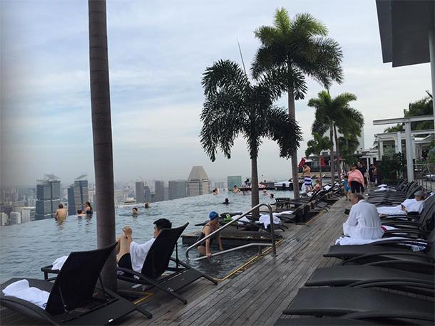 Things to Do Singapore: Marina Bay Sands Infinity Pool