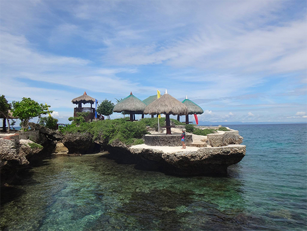 Cebu Philippines Photos Camotes Island Mangodlong Rock