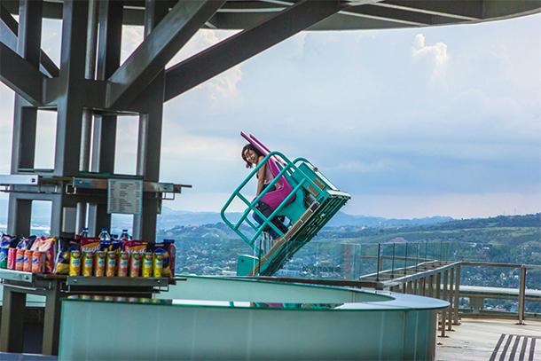 Cebu Philippines Photos: Crown Regency Edge Coaster