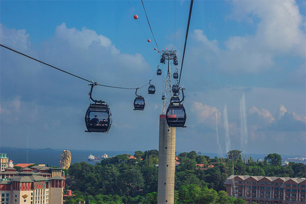 Things to Do Singapore: Singapore Cable Car