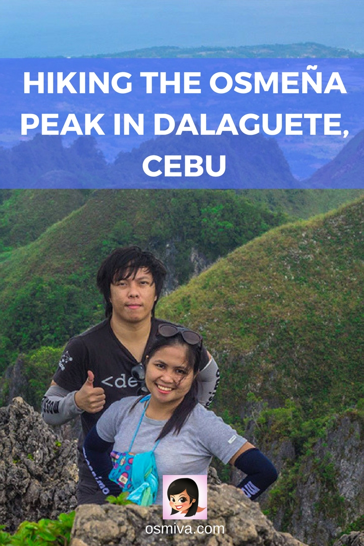 Hiking the Osmeña Peak in Dalaguete, Cebu. What to expect when visiting Osmeña Peak including fees and fares. #travel #destination #asia #philippines #cebu #cebuphilippines #osmenapeak #hike #osmiva