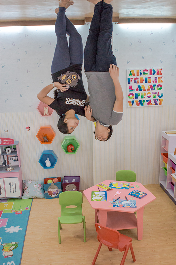 Upside Down World Cebu: Playroom