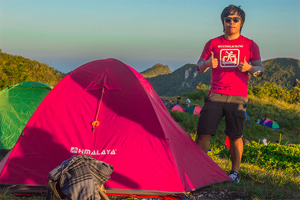 Osmeña Peak Hike: Camp