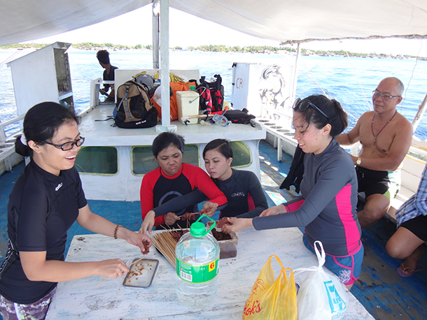 Island Hopping Mactan Cebu: Bring Food