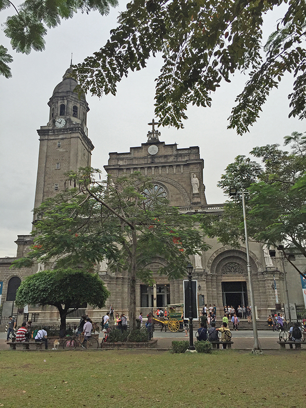 Intramuros Walking Tour: Manila Cathedral