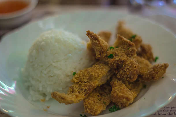 Intramuros Walking Tour: Ristorante delle Mitre Meal