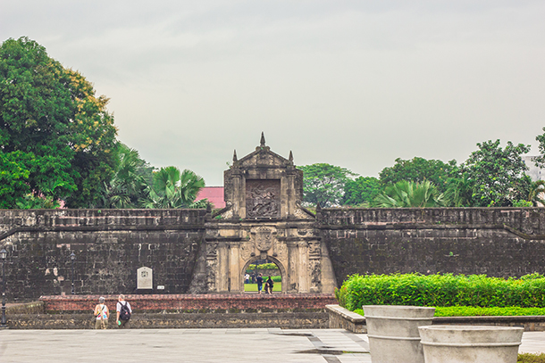Intramuros Walking Tour: Fort Santiago