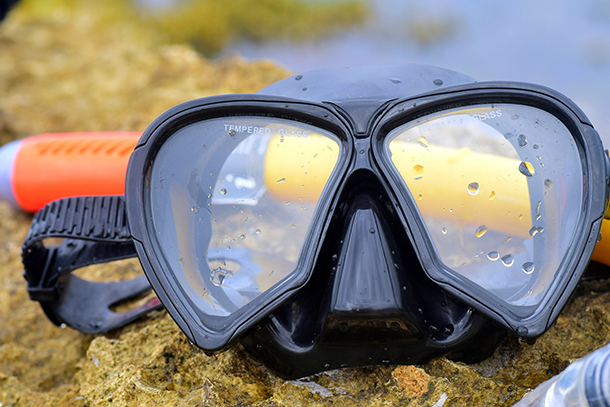 Packing List for Island Hopping in the Philippines: Mask and Snorkel
