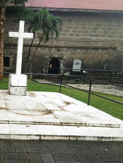 Intramuros Walking Tour: Memorial Cross