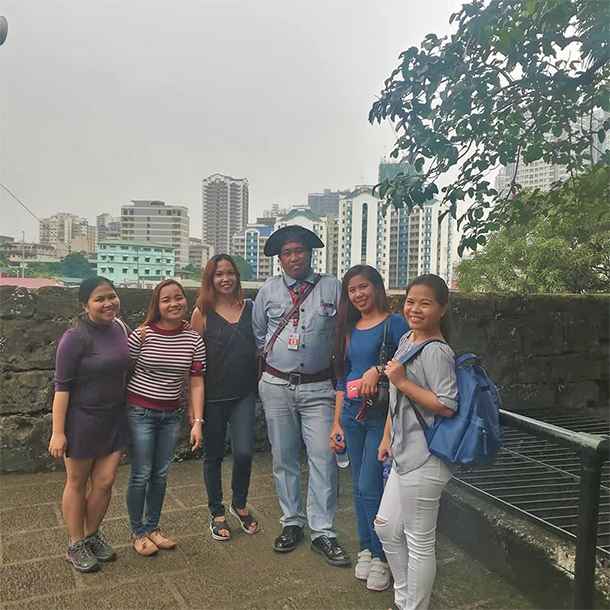 Intramuros Walking Tour: Guardia Civil