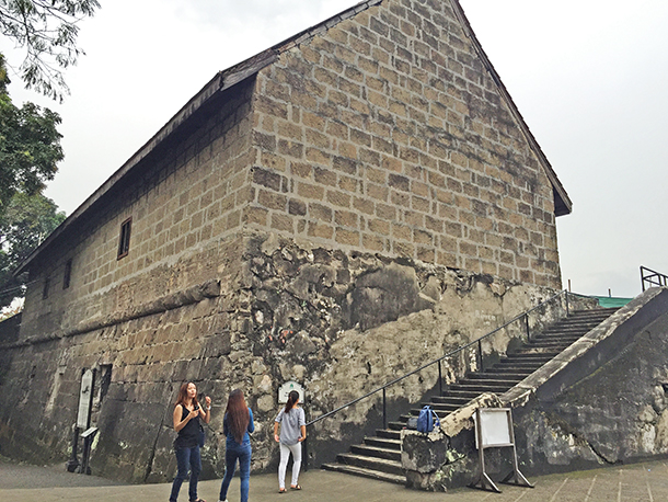 Intramuros Walking Tour: Baluarte De Santa Barbara