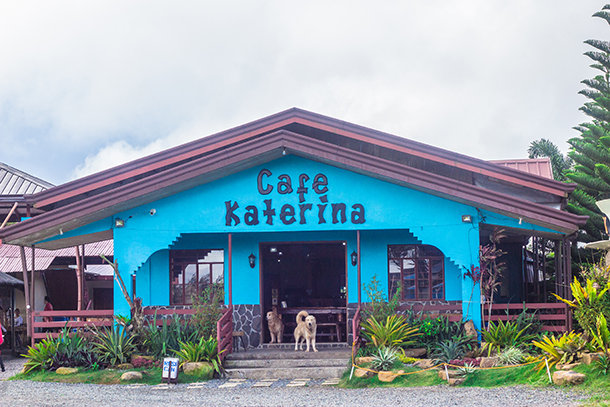 Daranak Falls: Cafe Katerina