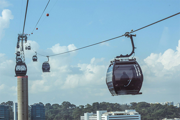 Singapore Photography: Singapore Cable Car