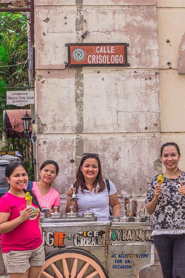 Vigan Tourist Spots: Vigan Dirty Ice Cream