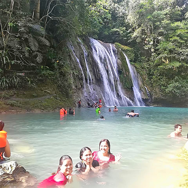 Daranak Falls: Swimming in Shallow/ Deep Waters
