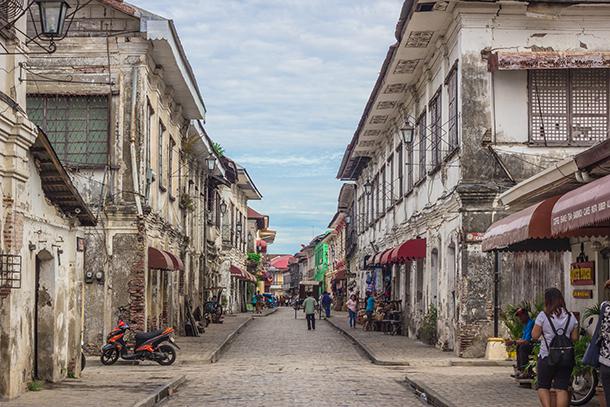 Vigan Tourist Spots: Calle Crisologo