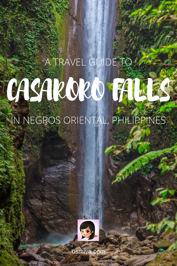 A Hike to Valencia's Casaroro Falls in Negros Oriental, Philippines. Includes what to expect, entrance fee, travel tips during the hike and how to get there. #valencianegrosoriental #philippines #casarorofalls #naturetripping #osmiva