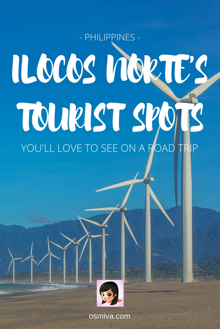 Ilocos Norte, Philippines Tourist Spots You'll Love to See on a Road Trip. Includes how to get there, what to expect, hotels to stay and entrance fee rates. #ilocosnorte #ilocosnortetouristspots #ilocosphilippines #ilocosroadtrip #philippines #travelguide #ilocostravelguide #asia #osmiva