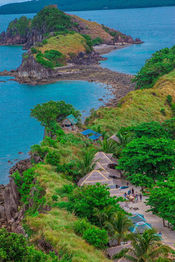 Sambawan Island Terrain