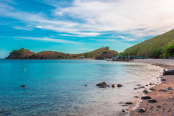 Sambawan Island Travel Guide: Swimming in the Island's waters